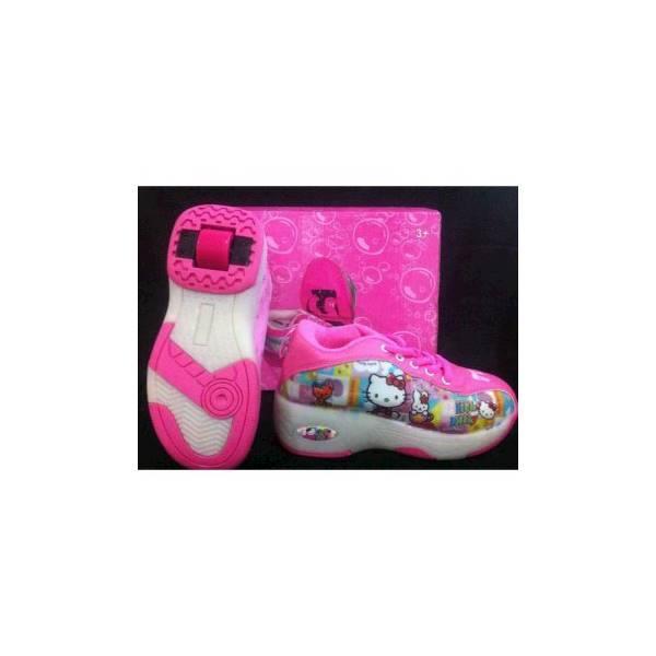 TERMURAH Sepatu Roda 2In1 (Roller Shoes) - Hello Kitty Hadiah Ulang Tahun Mainan Edukasi