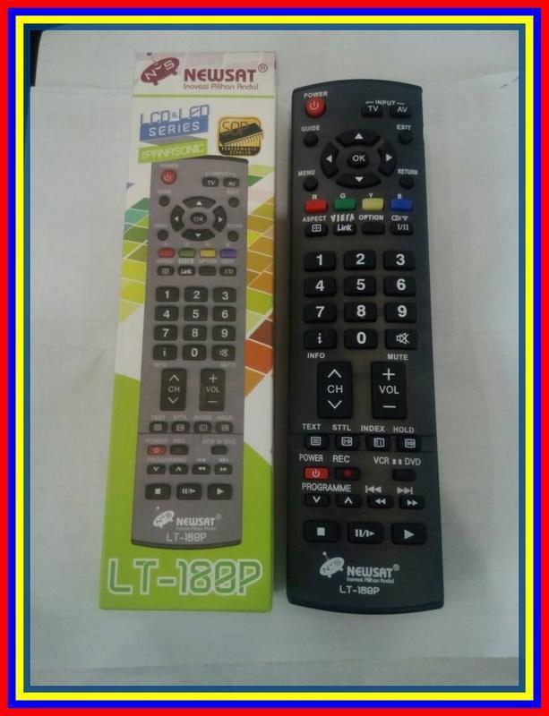 Remot Remote TV LCD LED Panasonic
