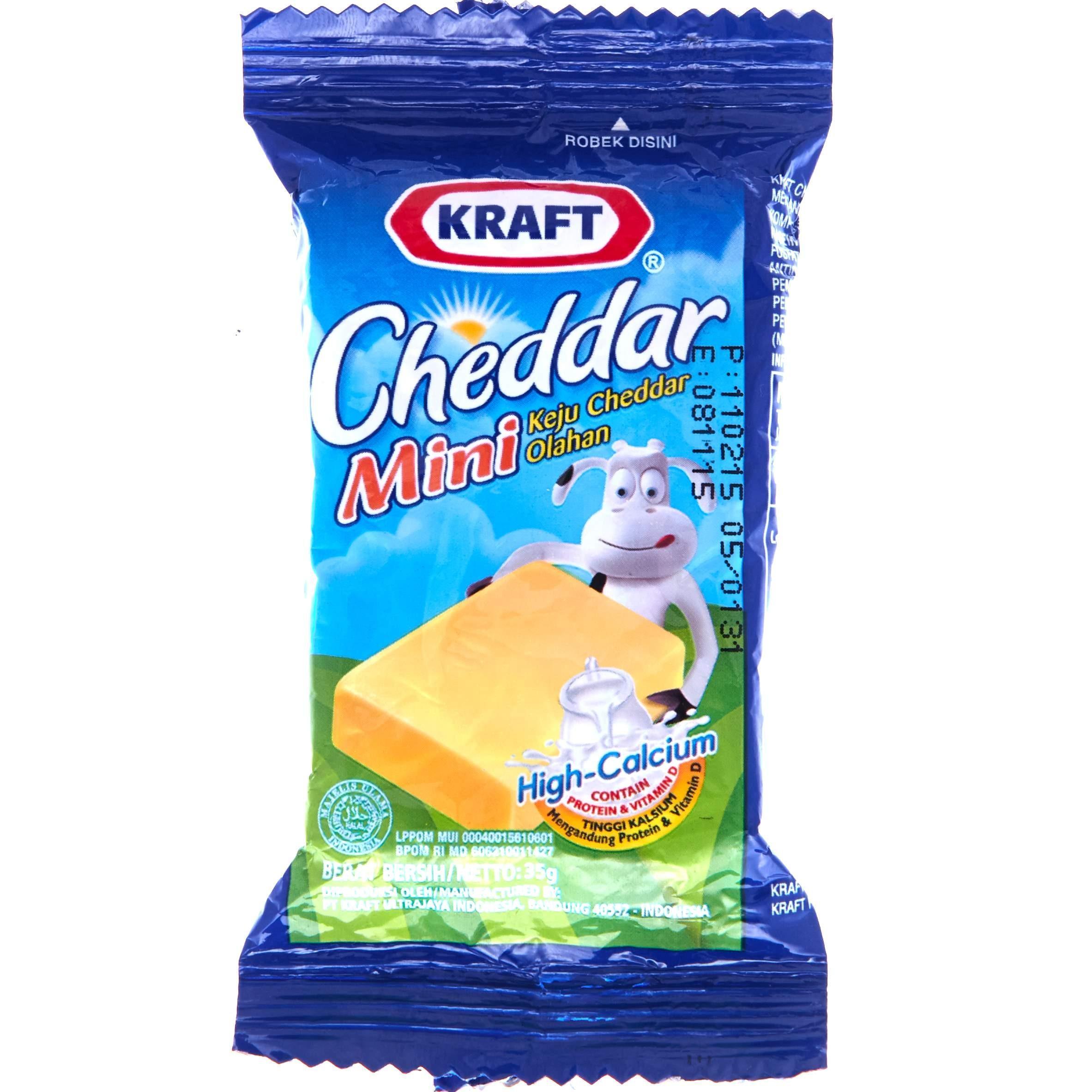 Produk Kraft Online Terbaru Di Stik Keju Cheddar Mini 35g