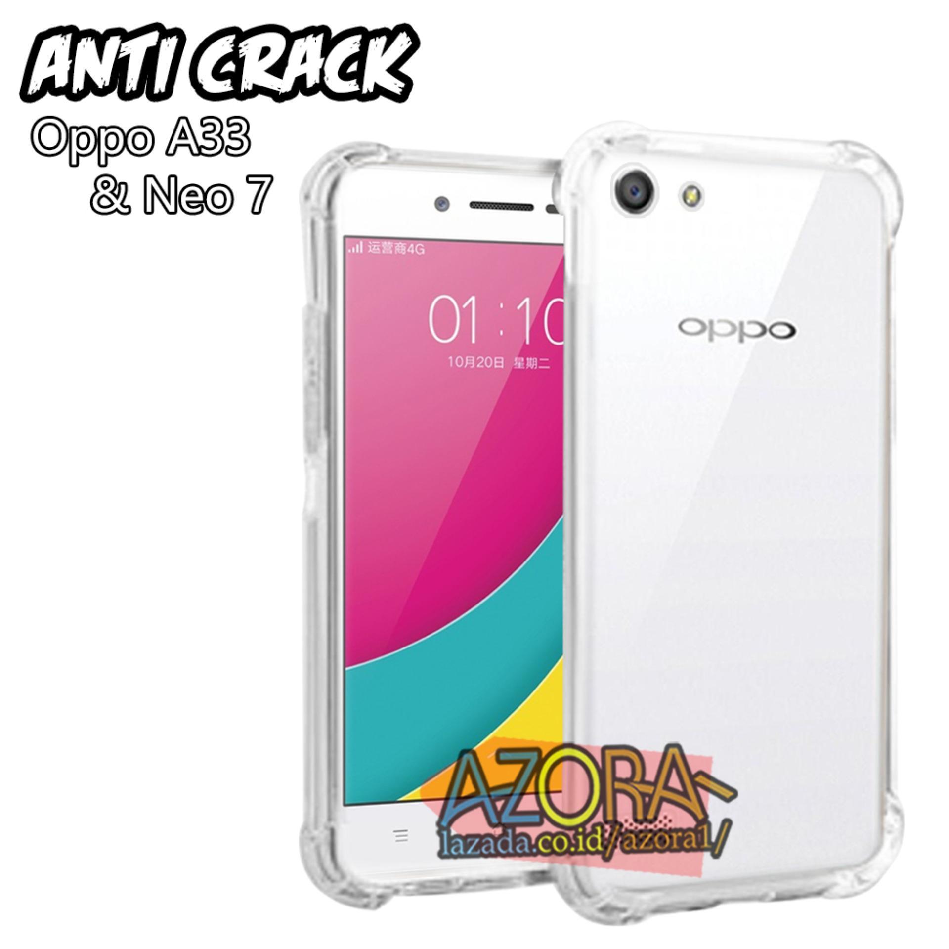 Case Anti Crack Oppo Neo 7 / A33 Ultra Thin Anti Shock Jelly Silikon Shockproof Softcase