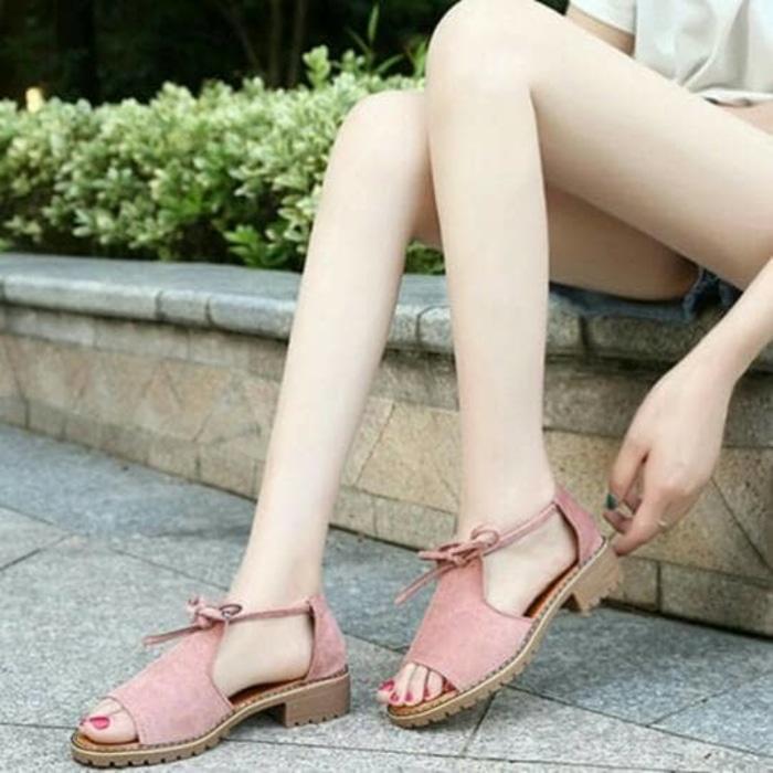 Sandal Wanita Sol Kickers SDL67 / sandal wanita / sandal wanita flat / slip on /