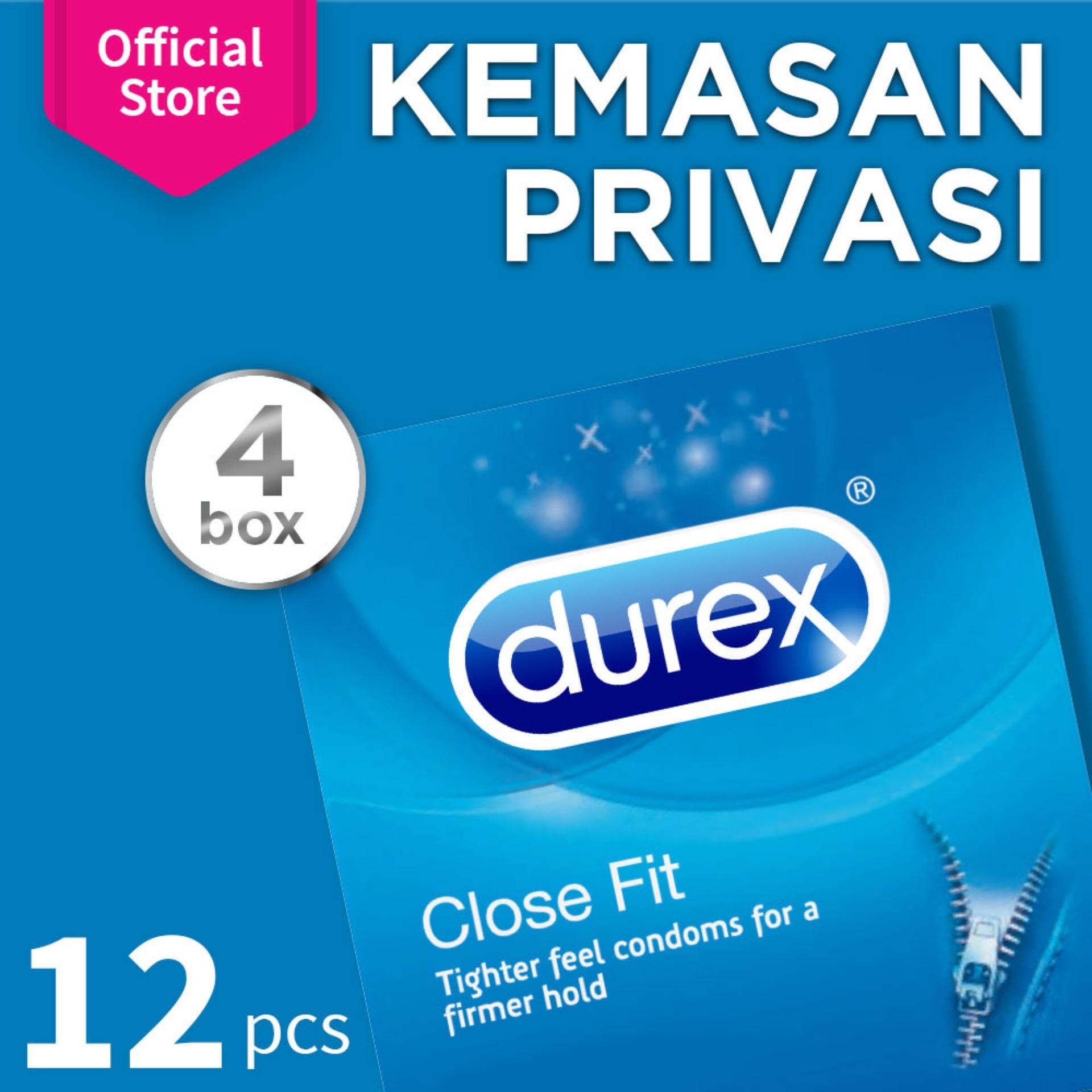 Kondom Alat Kontrasepsi Durex Invisible 2 Tertipis Dari