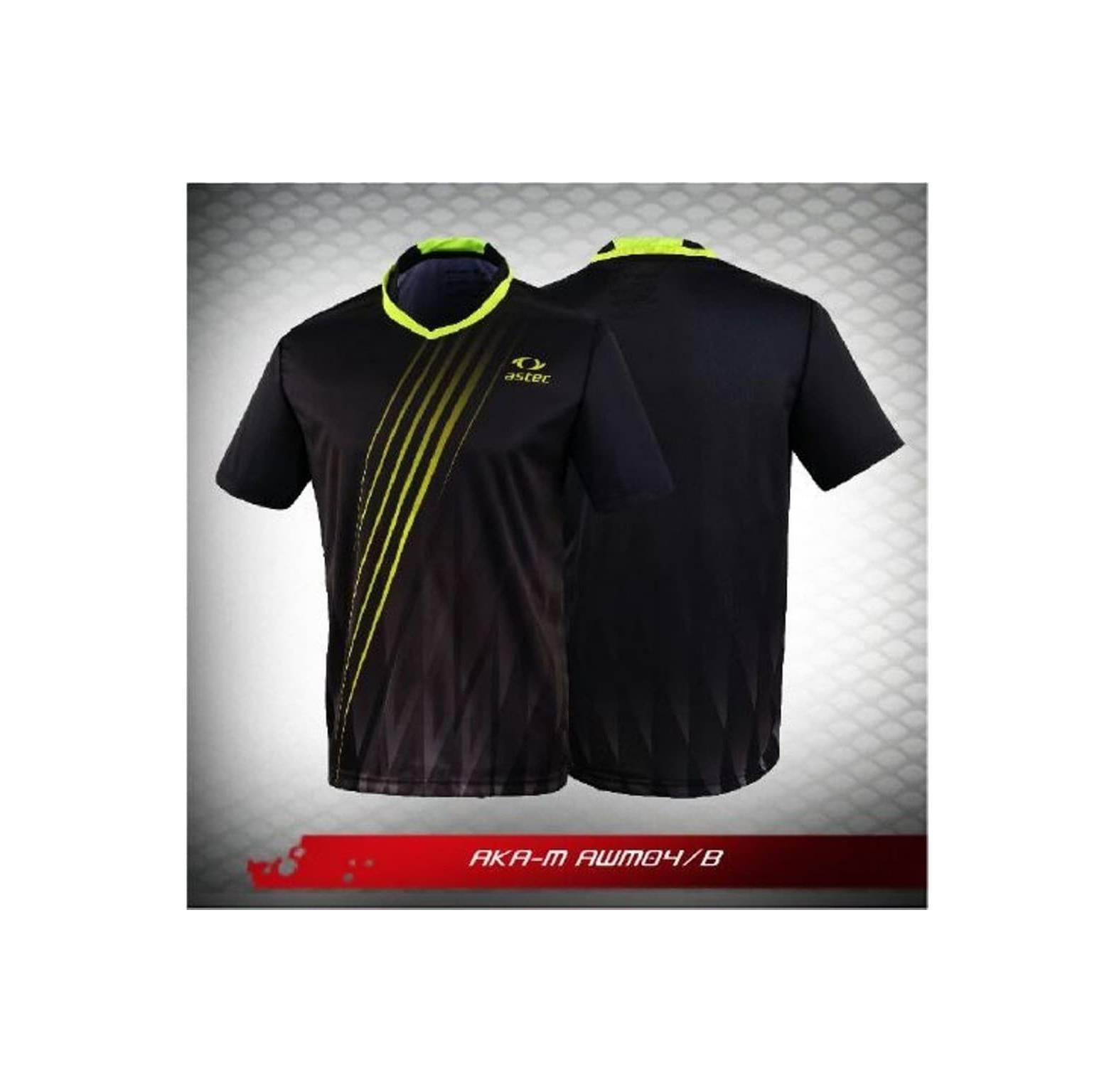 Jual Kaos Badminton Astec AKA M AWM 04B Berkualitas pasti murah