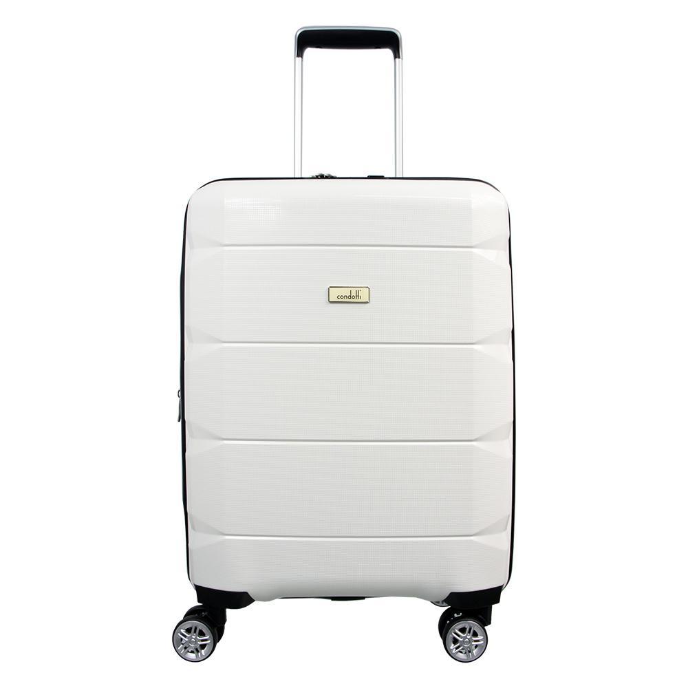 Condotti 63103 - Tas Koper Kabin Hardcase 20 inch - White 02ae15e632