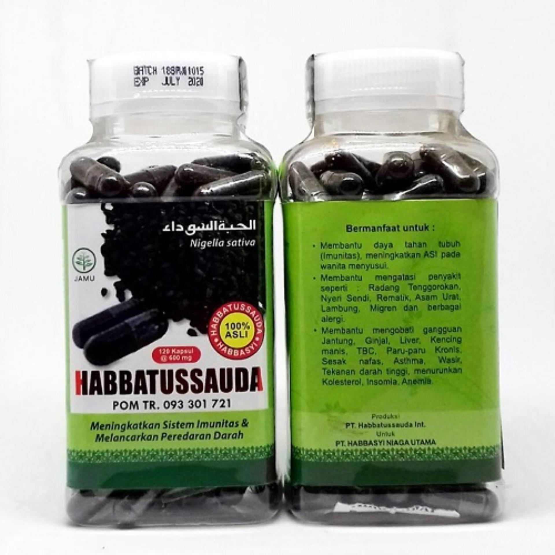 Jual Produk Habbatusauda Online Terbaru Di Habbasy Habbatussauda Minyak Isi 200 Kapsul Habbasyi Serbuk 120