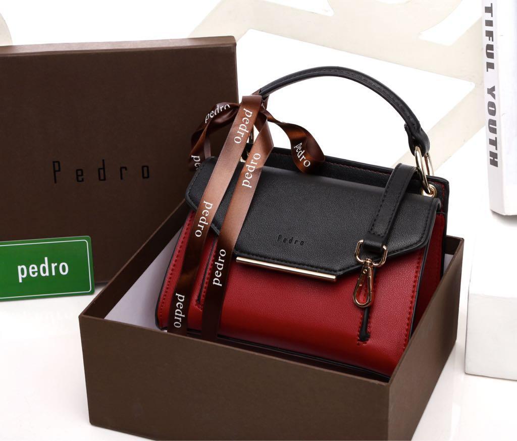 PEDRO WITH BOX 809 TAS BRANDED Fashion Wanita Tas Import Grosir Tas Selempang Ransel Handbag Trendy
