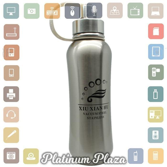 free Botol Thermos Stainless Steel 1 Liter - Silver`HVDB8D- olx