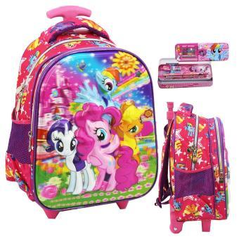 Pencarian Termurah Onlan Trolley Anak Sekolah TK Dua Kantung Little Pony Dan Kotak Pensil Set Alat Tulis - Pink harga penawaran - Hanya Rp152.070