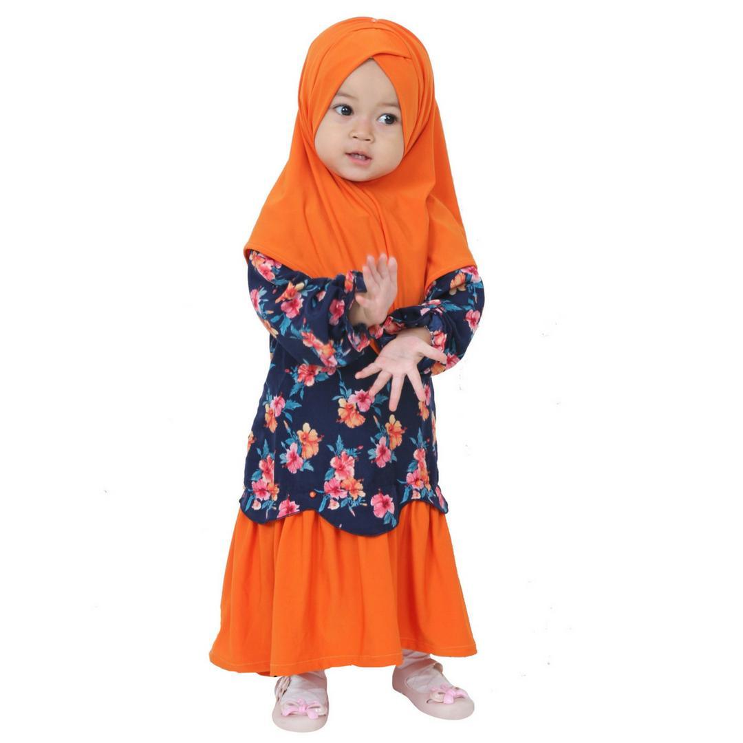 Hawa - Baju Muslim Anak Perempuan / Gamis Anak Usia 1-6 Tahun