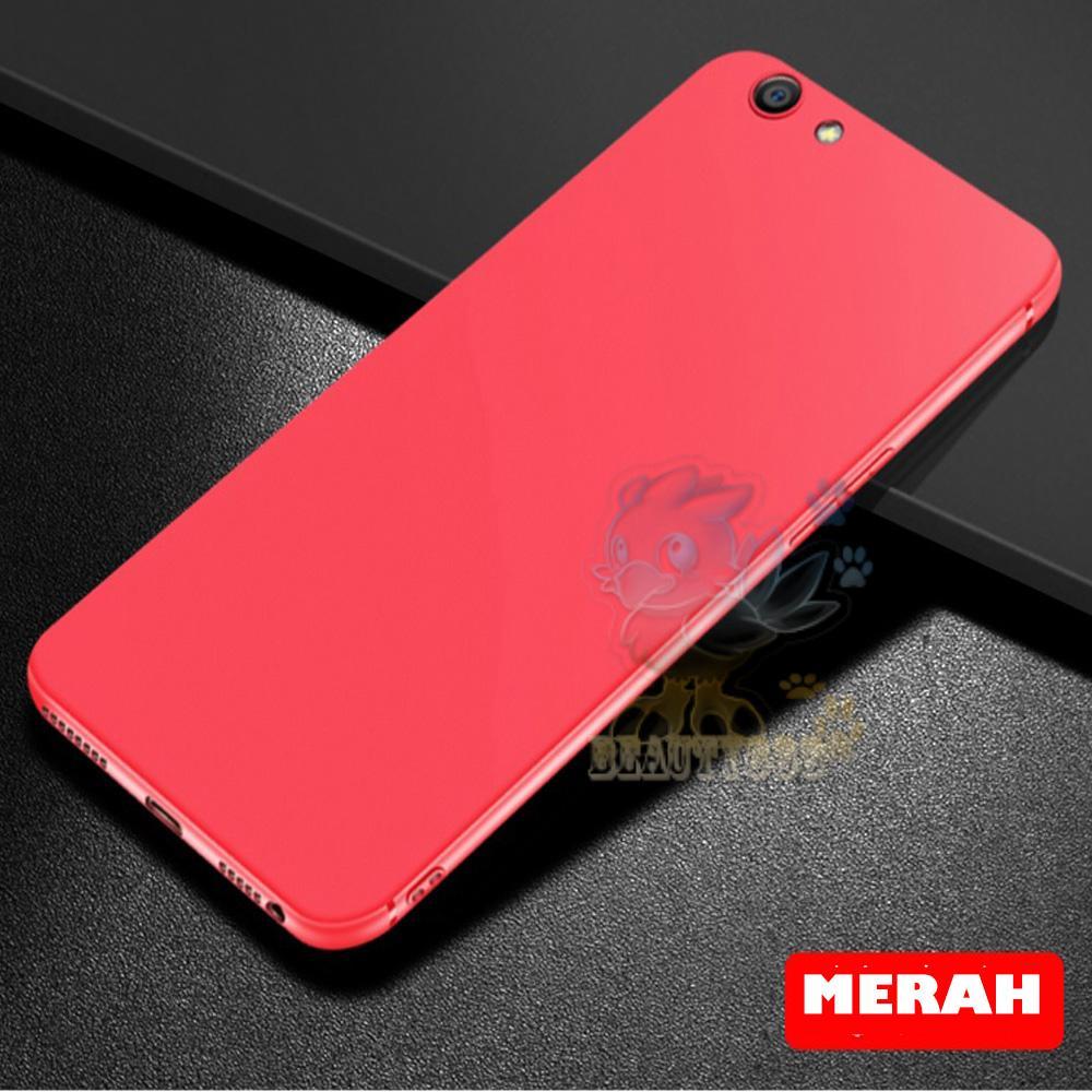 Lize Case Oppo A83 Rubber Silicone Anti Glare Skin Back Case / Silikon Oppo A83 /
