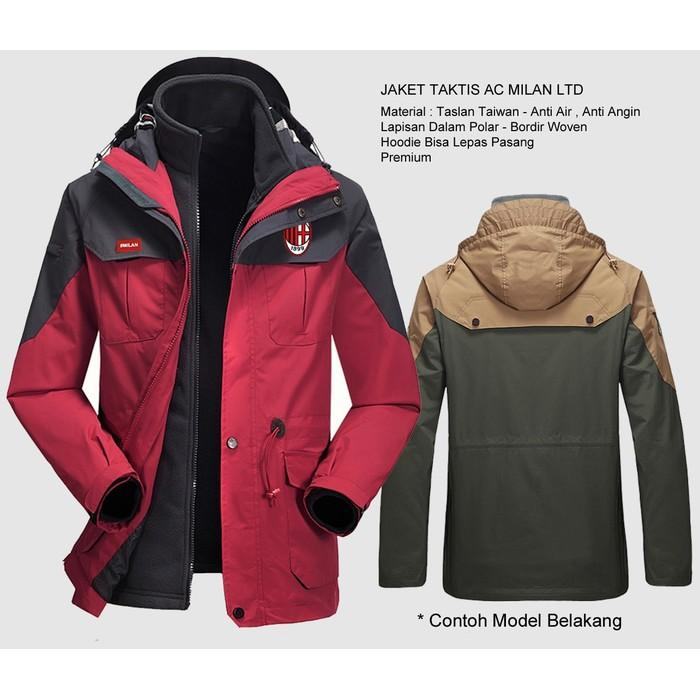 JUAL Jaket Sepak Bola- Jaket Gunung- Jaket Motor & Jaket Hujan Parasut Anti Air