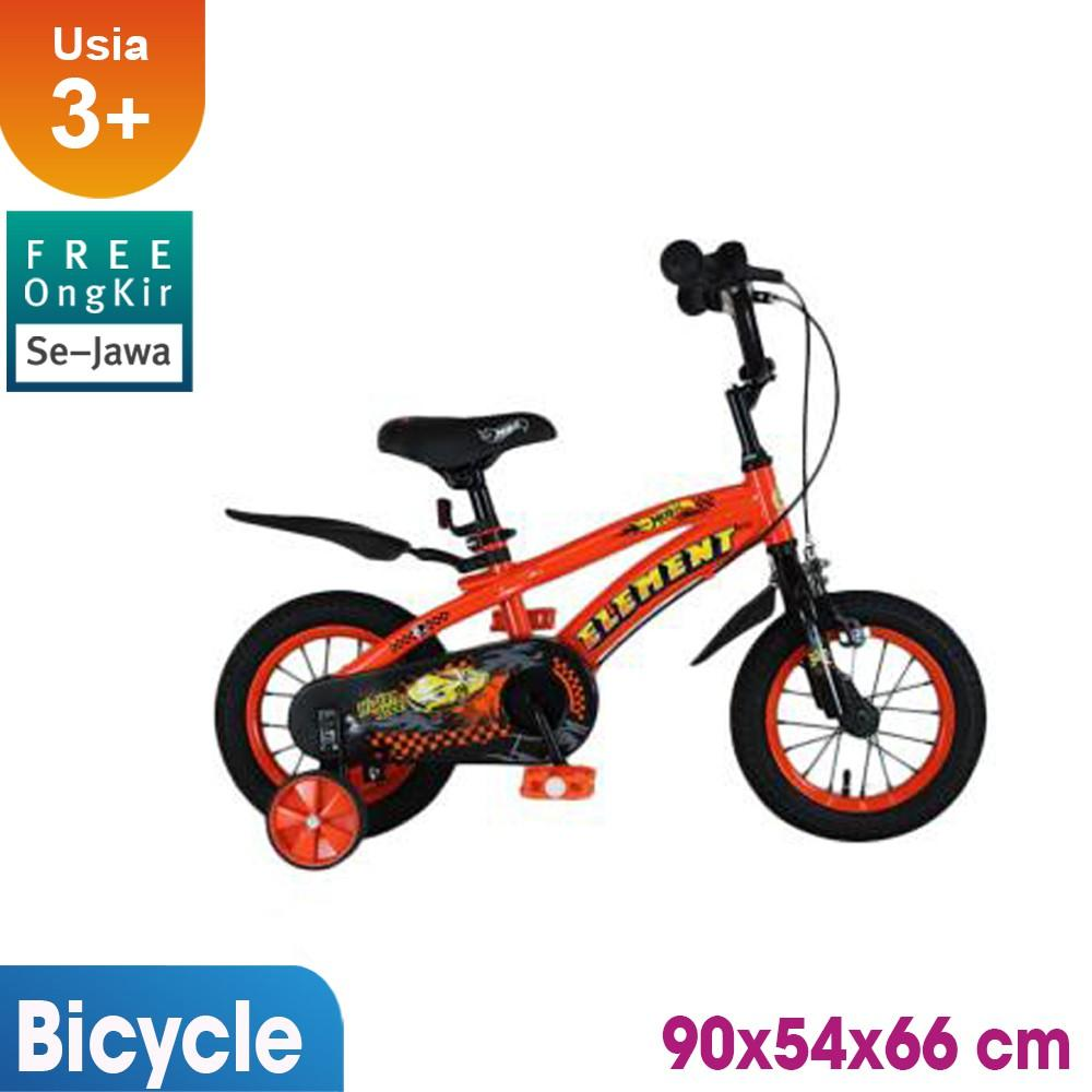 Sepeda Anak Element Mobil 12inch