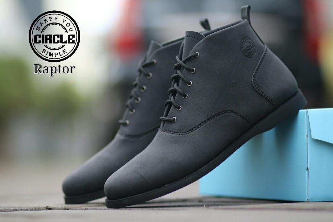 SI CEBU - Sepatu Brodo Leather Men's SHOES Original CIRCLE