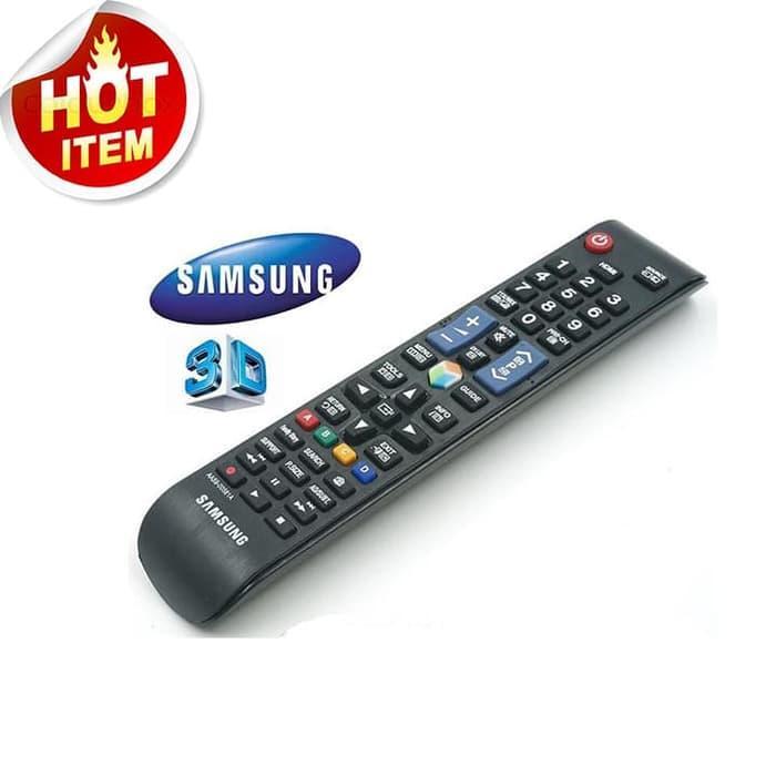 REMOTE SMART TV 3D Samsung 100% Cocok Dengan Tv Anda - MODEL PANJANG