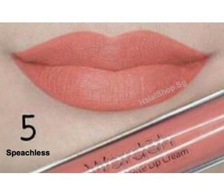 Wardah Exclusive Matte Lip Cream 05 Speachless