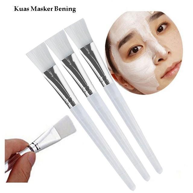 kuas masker wajah bening - 1 pcs