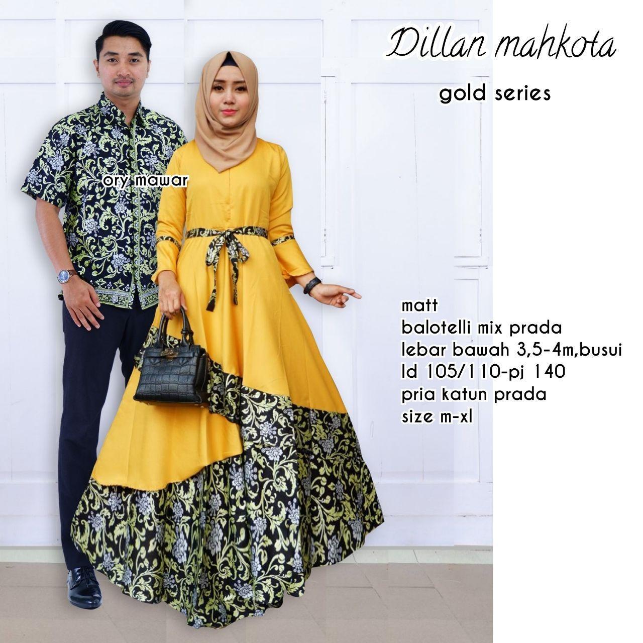 Btik Couple - Batik Sarimbit - Batik Kondangan - Dilan