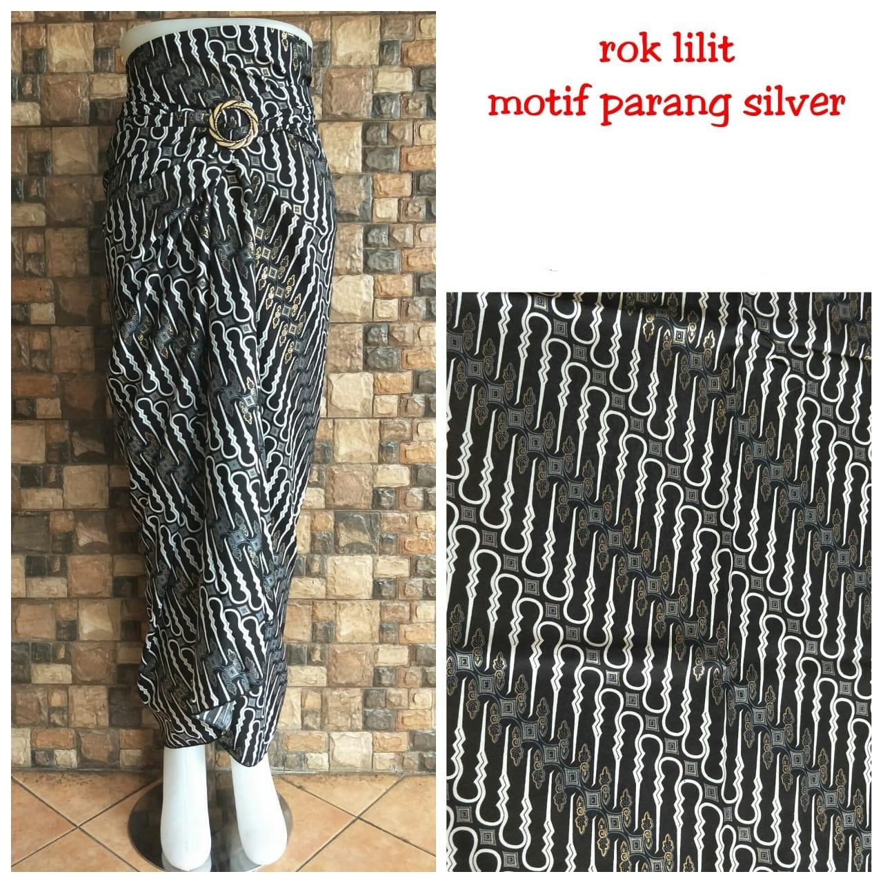 SB COLLECTION ROK LILIT BATIK BLACKGOLD HITAM ✓