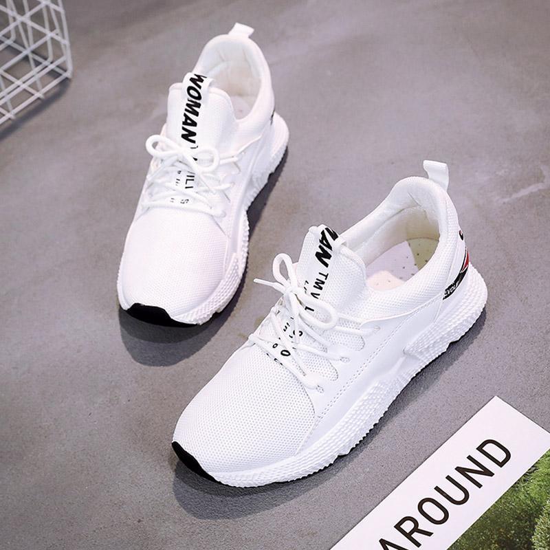 Sepatu olahraga sepatu wanita 2018 model baru musim semi Gaya Korea ulzzang  netral Harajuku jaringan ins 3a96f7aeb0