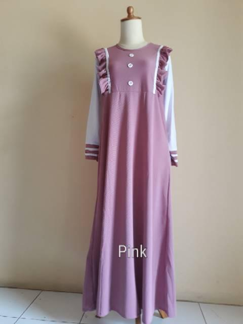 Buy Sell Cheapest Webe Gamis Renda Best Quality Product Deals