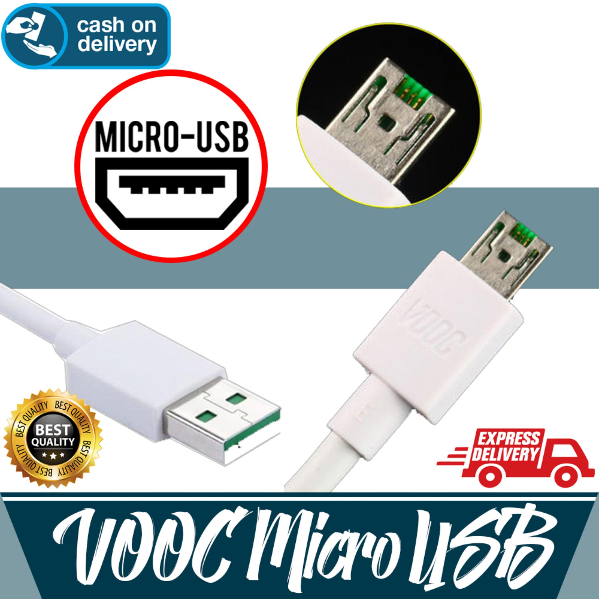 Aldora Kabel Data Compatible With Oppo VOOC Micro USB High Grade Quality Fast Charge