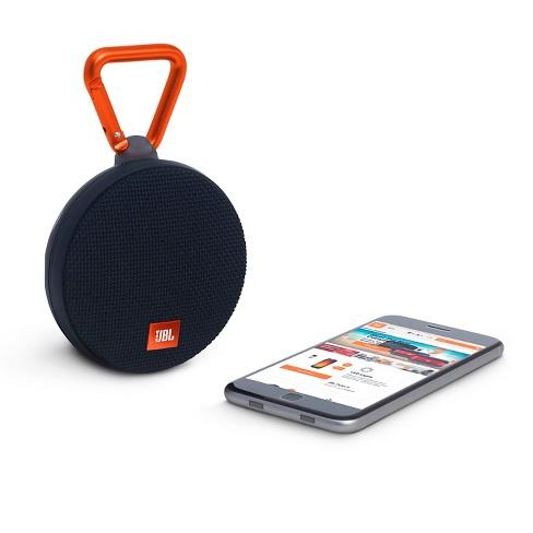 JBL Clip 2 Bluetooth Speaker portable waterproof - Hitam MURAH 400ribuan