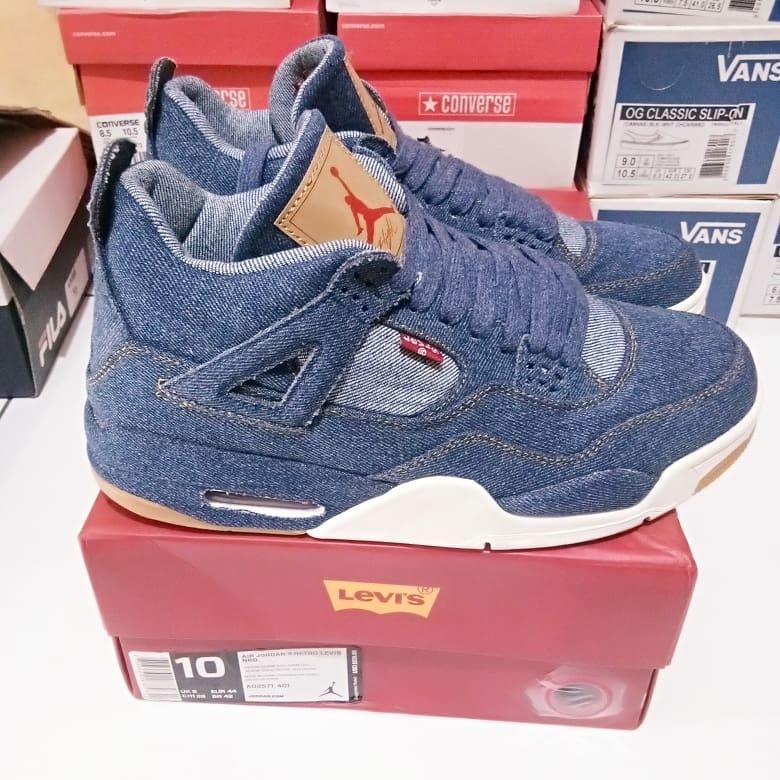 Nike Air Jordan 4 Retro Levis NGR 100% Perfect Kick BASF BNIB