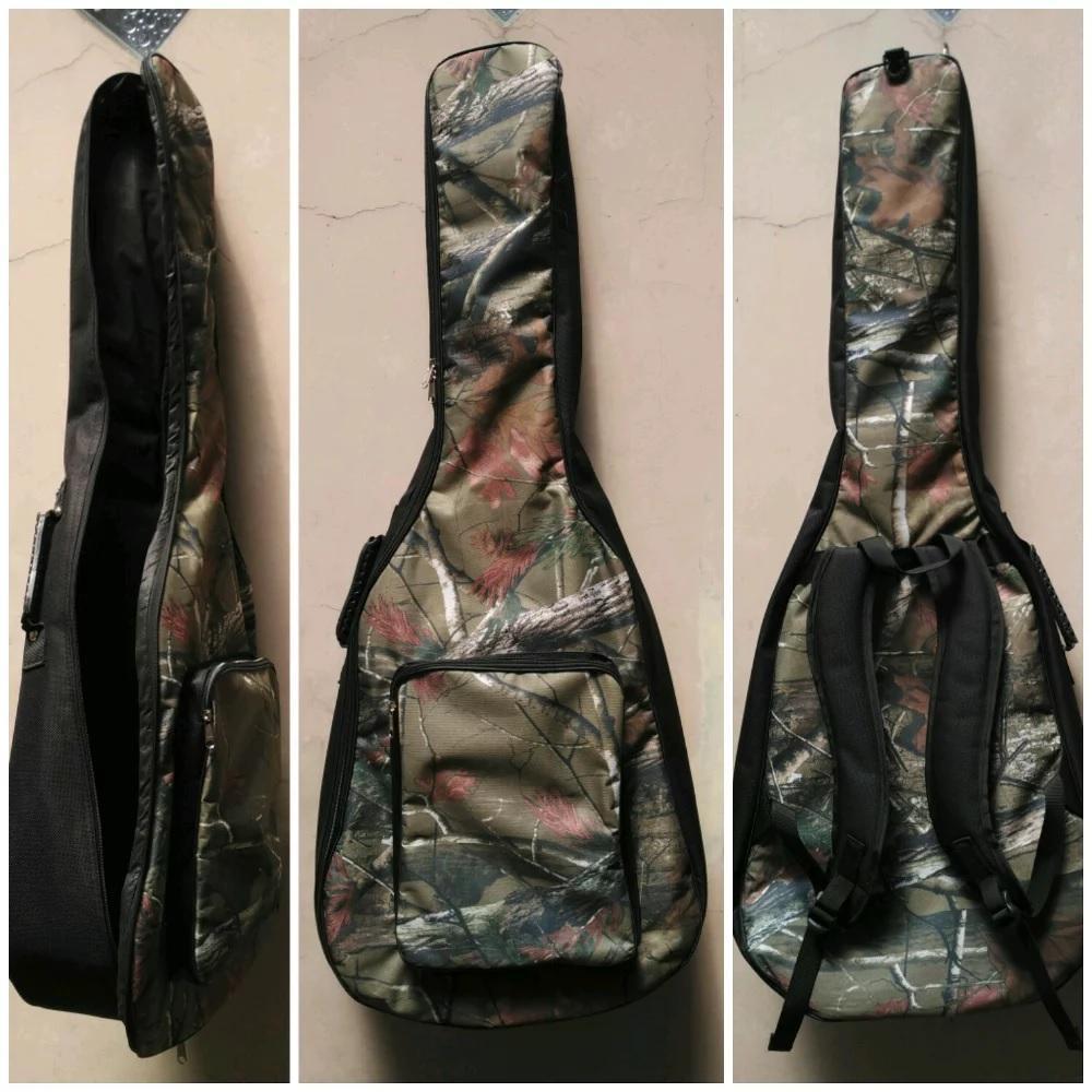 Jual Softcase Tas Gitar Akustik Ukuran Jumbo Harga Rp 55000 Warna Camo Hitu