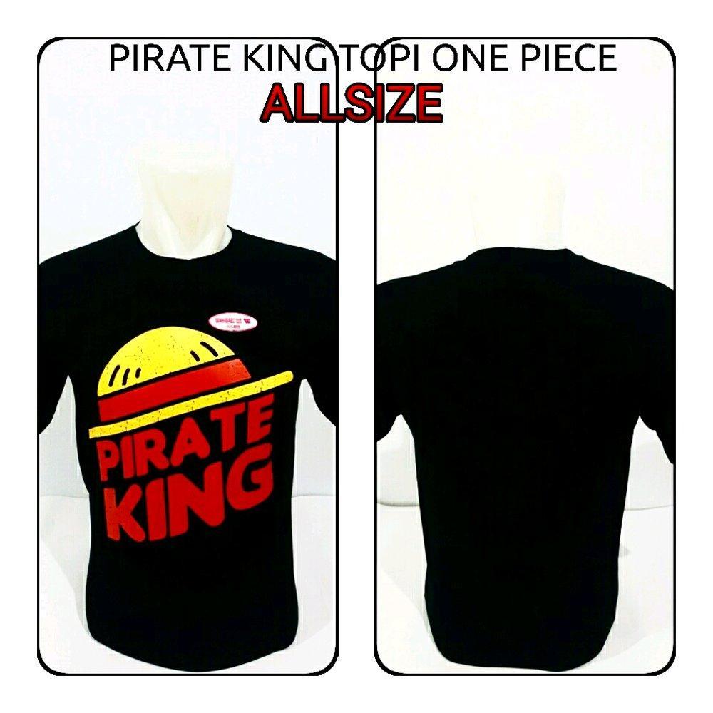 kaos distro pirate king topi one piece di lapak Zuperone mart superone