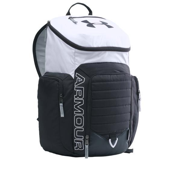 Under Armour Original ransel Undeniable storm laptop Backpack II - 1263963-101 - putih hitam