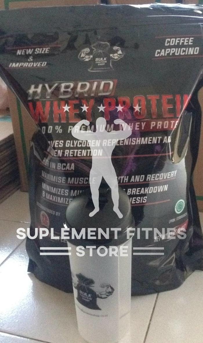 HOT SPESIAL!!! HYBRID Whey Protein 12lbs - FREE Shaker*/HYBRID rice 500gr* (HALAL) - jOORea