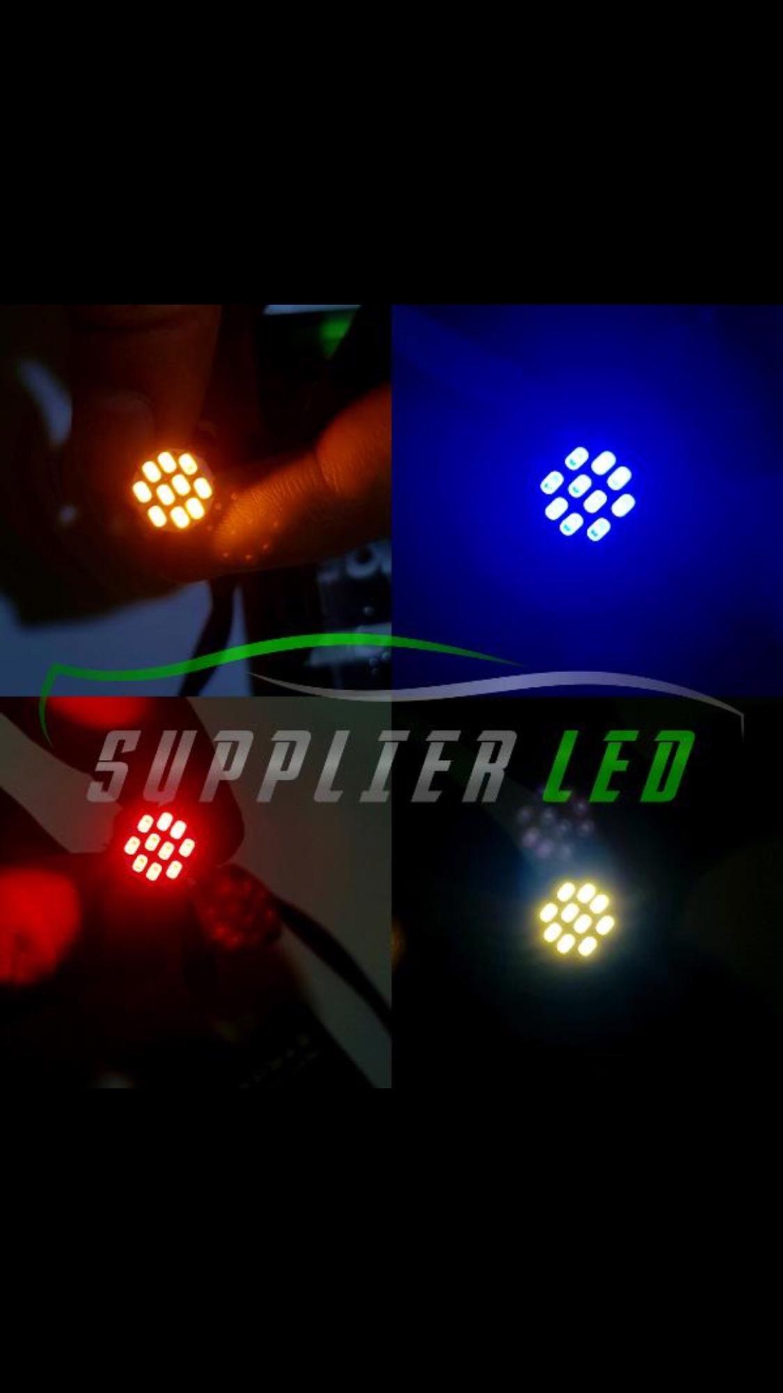 Lampu LED T10 10 Mata Motor Mobil Sein Senja Plat Nomor Mundur Rem