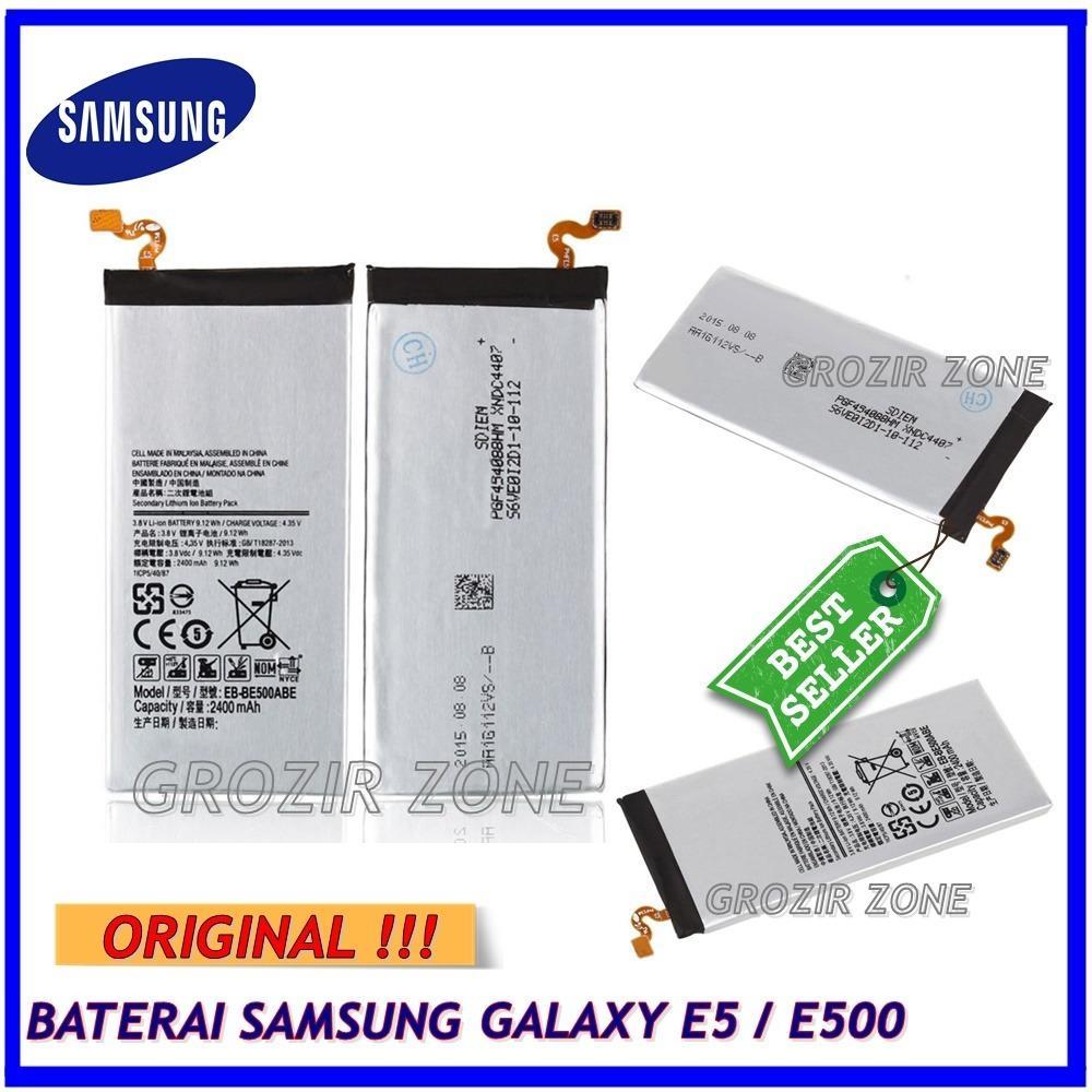 Samsung Baterai / Battery Galaxy E500 / E5 2015 Original - Kapasitas 2300mAh ( Goriz Zone )