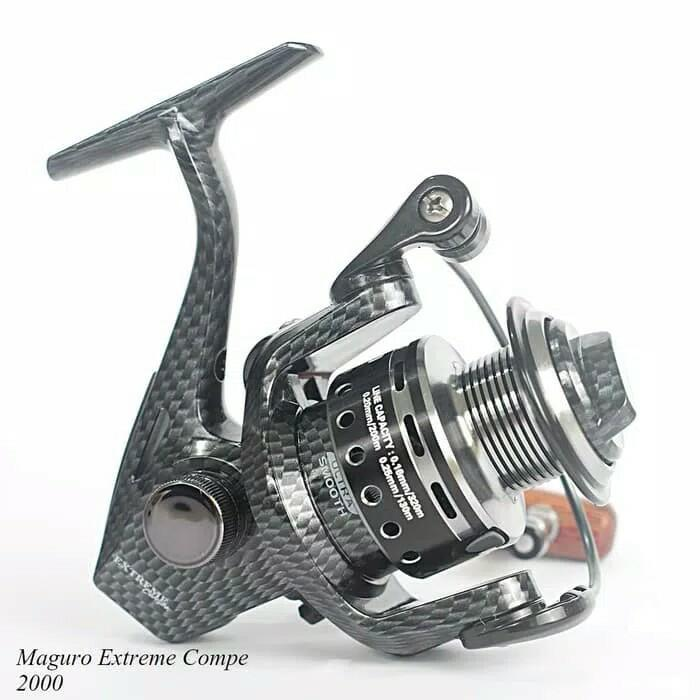 Reel Maguro Extreme Compe BB 9 Size 2000 Aluminum Power Handle