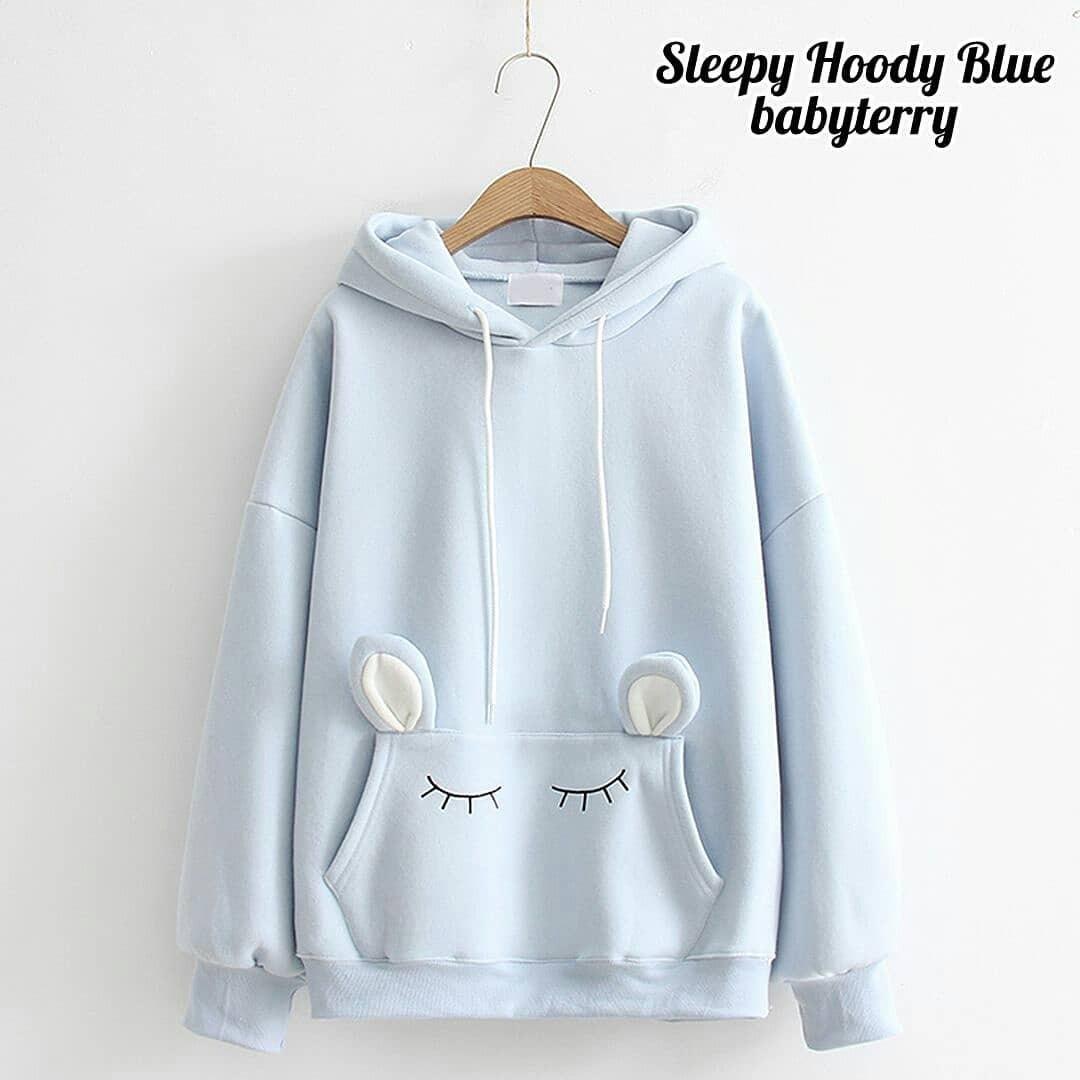 OEM Sleepe Hoddie Sweater Babyterry Jaket Hoodie Hangat Pakaian Wanita Muslim Modern Fashion Atasan Cewek Hijab