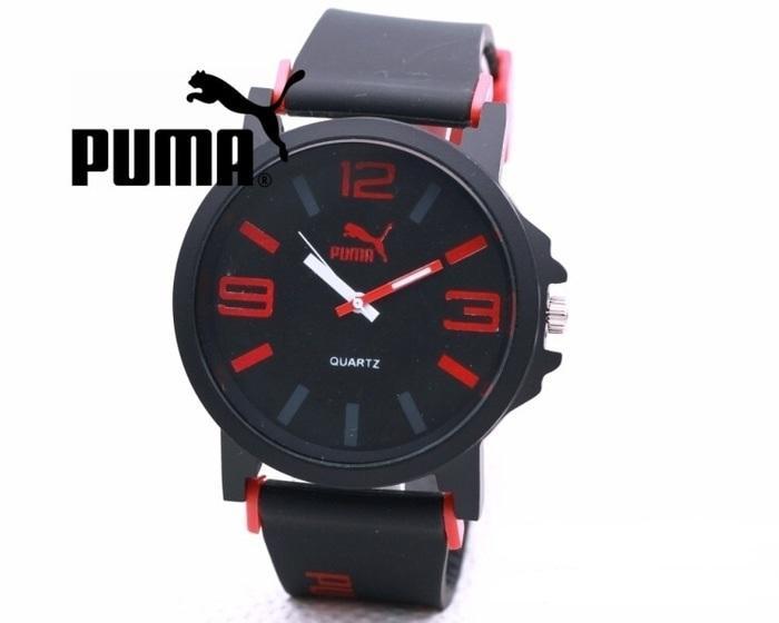 Jam Tangan Fashion Pria Analog Puma Rubber Angka
