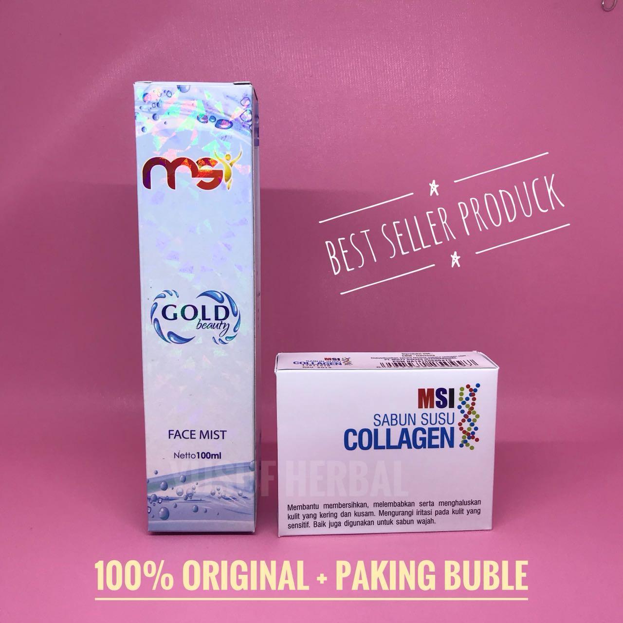 Jual Msi Paket Sabun Murah Garansi Dan Berkualitas Id Store Susu Collagen Rp 115000