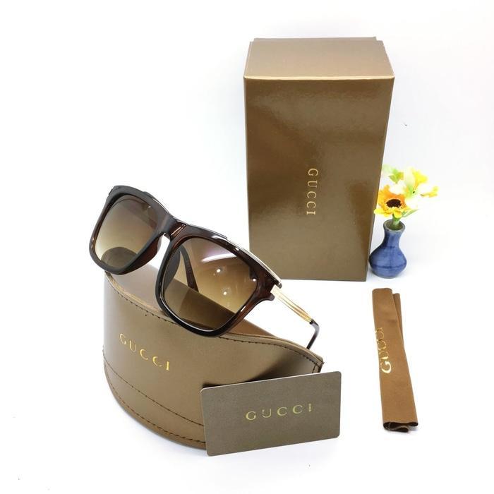 Kacamata / Sunglass Wanita Gucci M-5082 Fullset + Cairan Pembersih