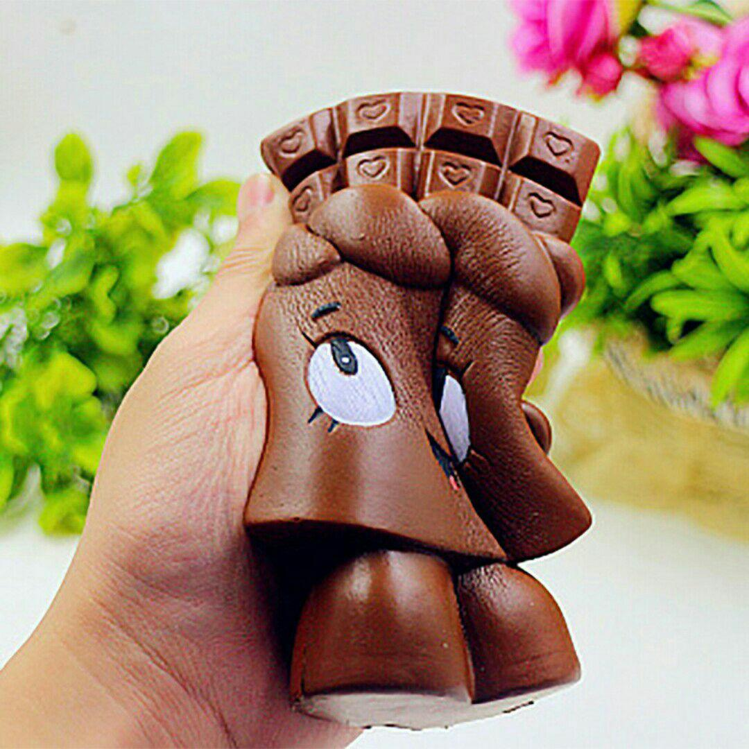 Squishy coklat bar murah slow rising