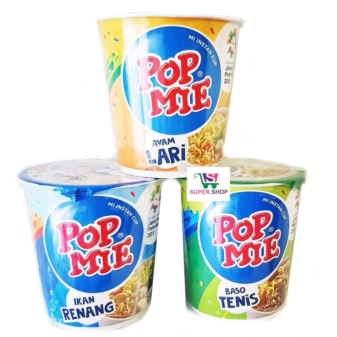 Pop Mie Asian Games Ikan Renang / Ayam Lari / Baso Tenis