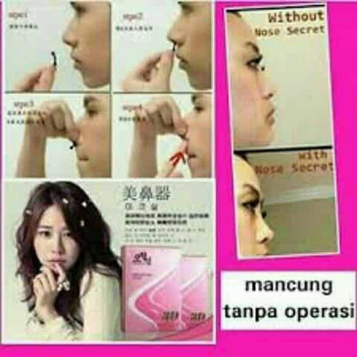 NOSE SECRET 100% ASLI ORIGINAL KOREA - Alat Pemancung Hidung 3D - Mancung tanpa Operasi