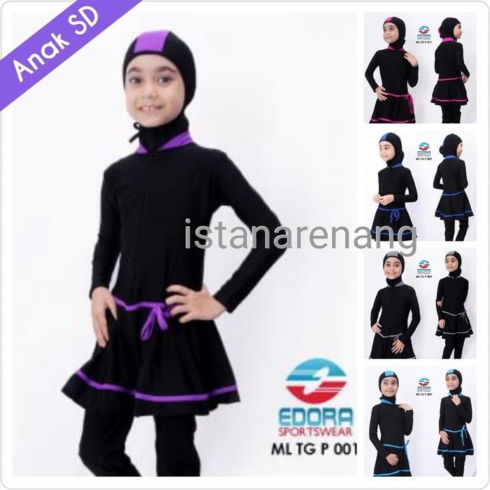 model baru Baju Renang Anak SD Musim Muslimah Wanita Perempuan Cewek