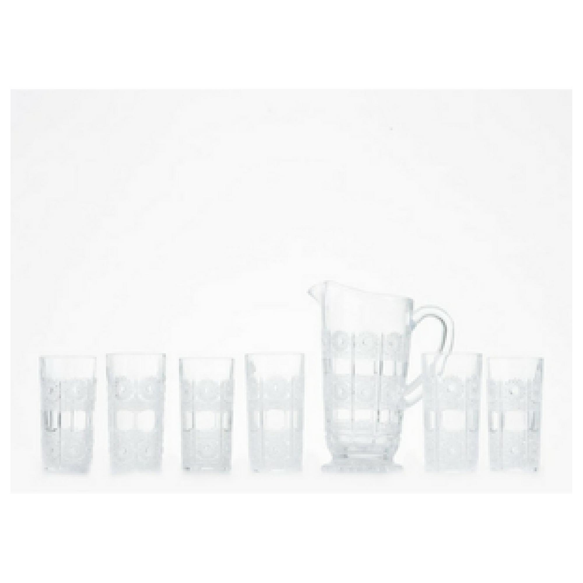 Buy Sell Cheapest Capodimonte Gelas Wadah Best Quality Product Kaca Isi 6 Pitcher Set Dengan