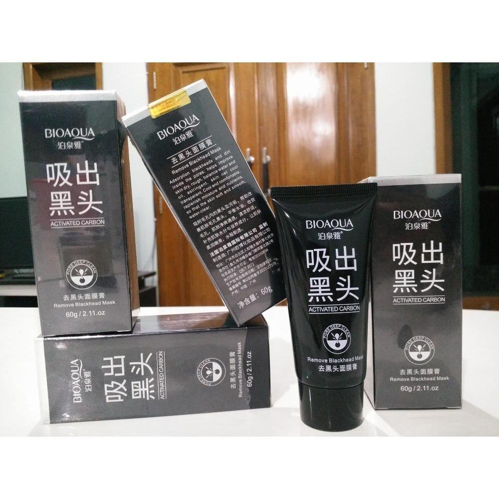 Rp 35.000. Bioaqua Remove Blackhead Mud Mask - Masker Lumpur Bio Aqua OriginalIDR35000. Rp 37.800. Bio Aqua Silky Soft Honey Powder/Bedak Tabur ...