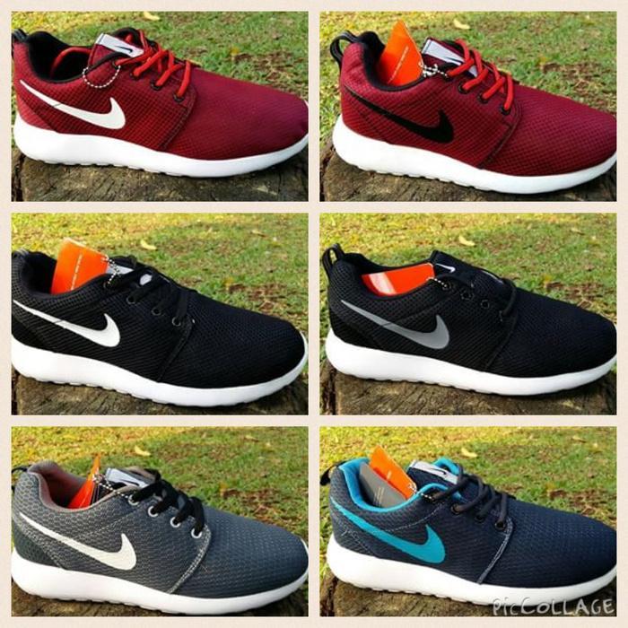 Sepatu Olahraga / Fitness Nike Roshe Run - hRL4tl