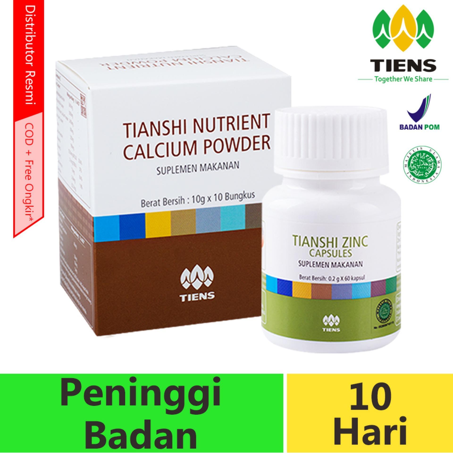 Peninggi Badan Tiens / Obat Peninggi Badan / Tiens Nutrient High Calsium Powder Dan Zinc PROMO