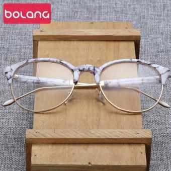 Daftar Harga Bingkai kacamata Retro Gaya Korea pasang Wajah Besar bingkai  besar pria wanita datar Anti Radiasi dengan mata produk jadi kacamata minus  Sastra ... 57c2566c63