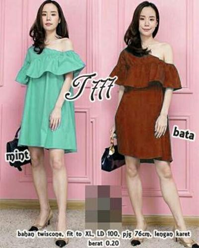 FJCO L DRESS MEIRA / Dress wanita / Fashion wanita
