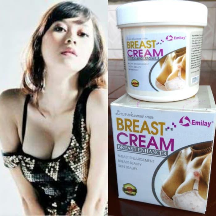 Krim Payudara Emilay Breast Cream Krim Pembesar Pengencang Payudara