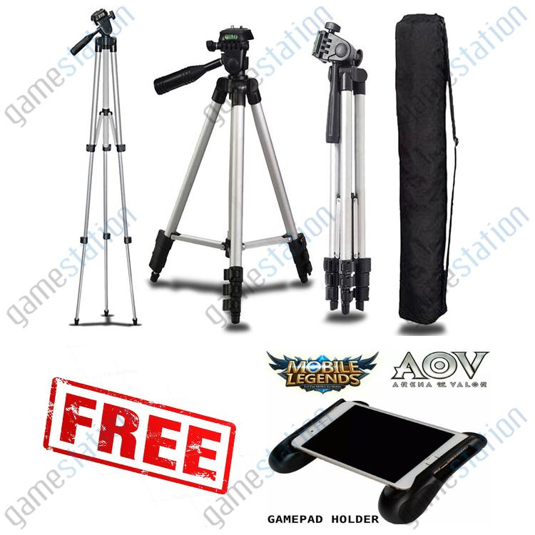 Game Station Tripod 3110 Silver SmartPhone Camera U Holder Free Game pad Android